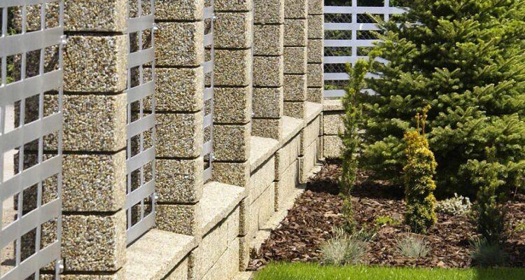 купить забор мытого бетона
