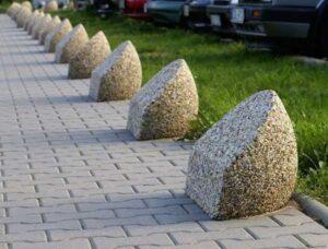 изделия из мытого бетона