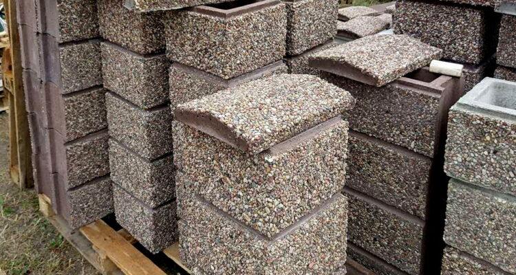купить блоки мытый бетон